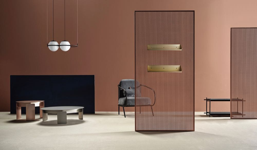 The new Mingardo collection  Diorama  with pieces by   Bernhardt & Vella, Elisa Honkanen, Valerio Sommelia, Studiopepe and Gio Tirotto. Art direction by Federica Biasi.