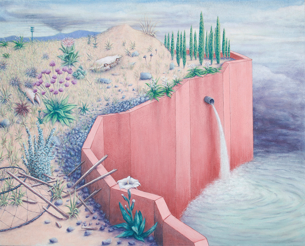 Angler's Rest , 2013, flashe on panel