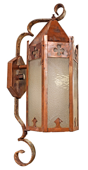 anchorage sconce productdetail two exterior aged zinc wall hinkley htm light outdoor