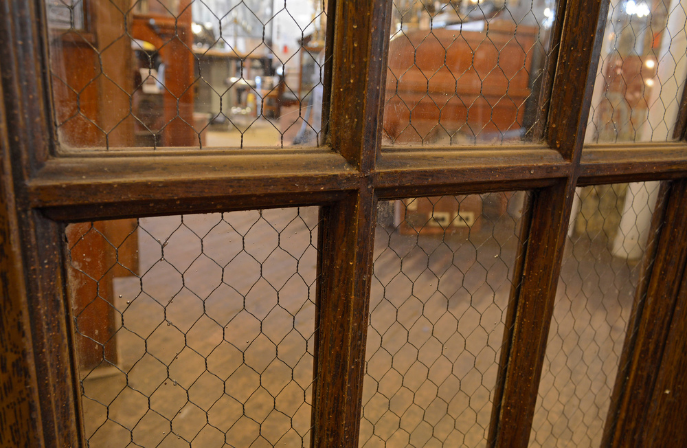 Custom Chicken Wire Glass Doors - Dolgular.com
