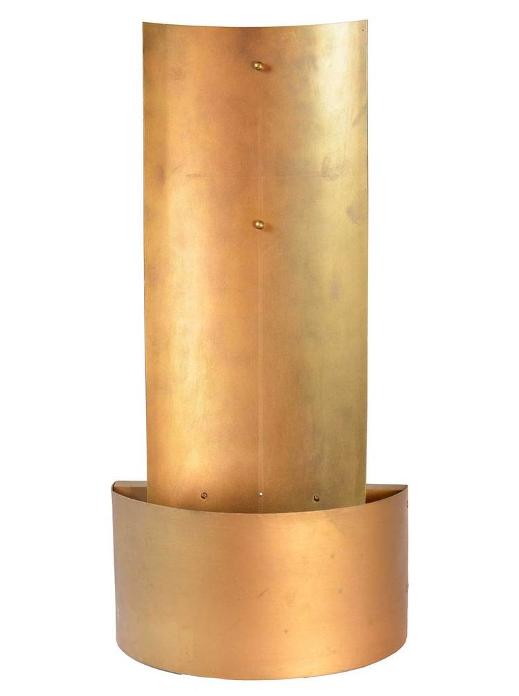 Large Brass Wall Sconces Architectural Antiques