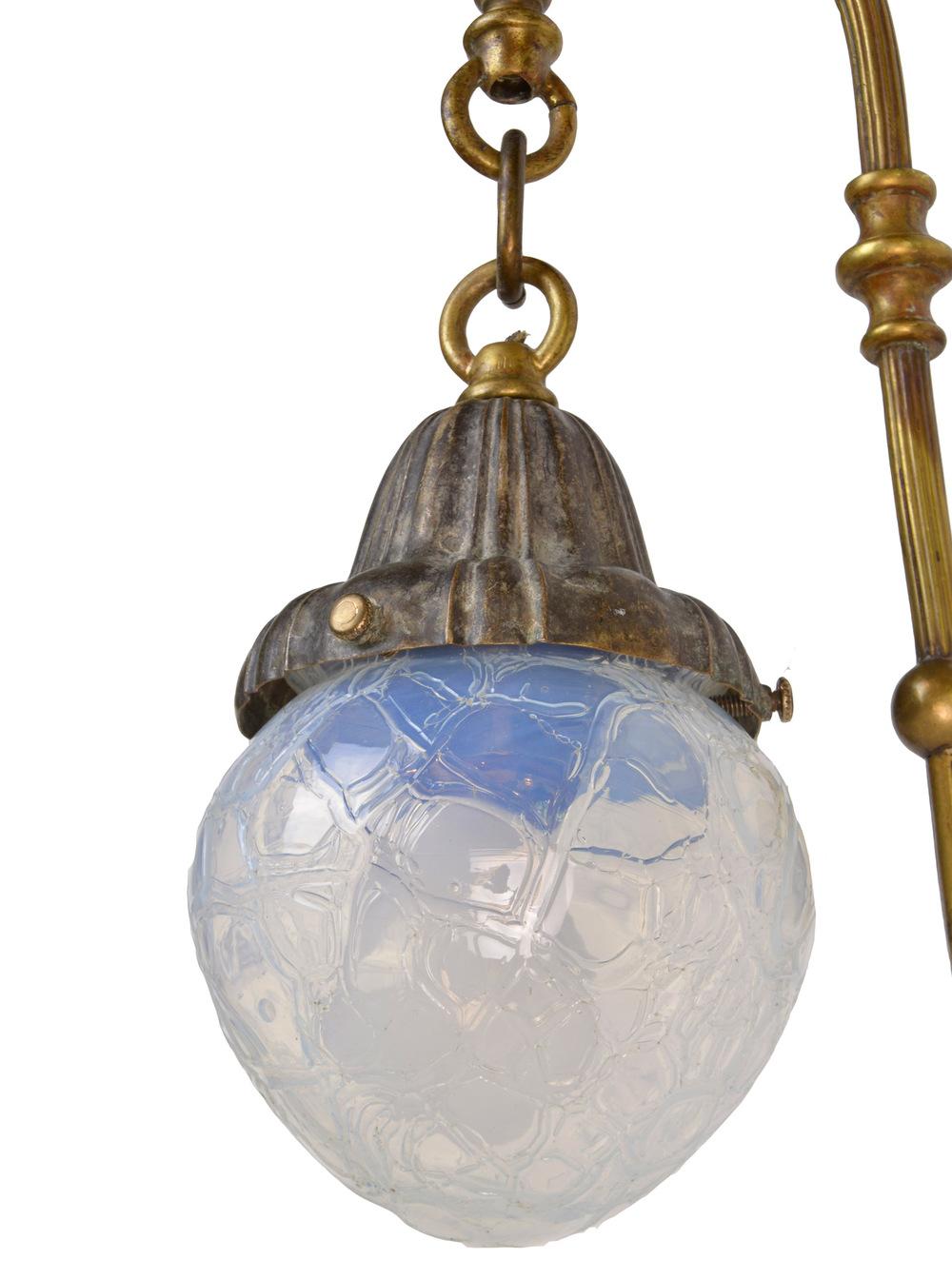 46287-Art-Noveau-Brass-Sconce-with-Vasaline-Shades-Light.jpg