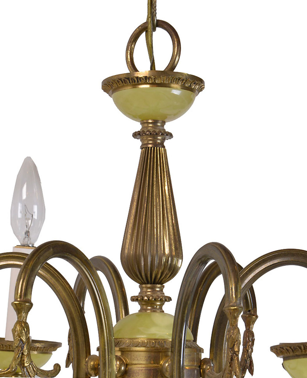 46510--6-candle-chandelier-with-faux-green-glass-DETAIL.jpg