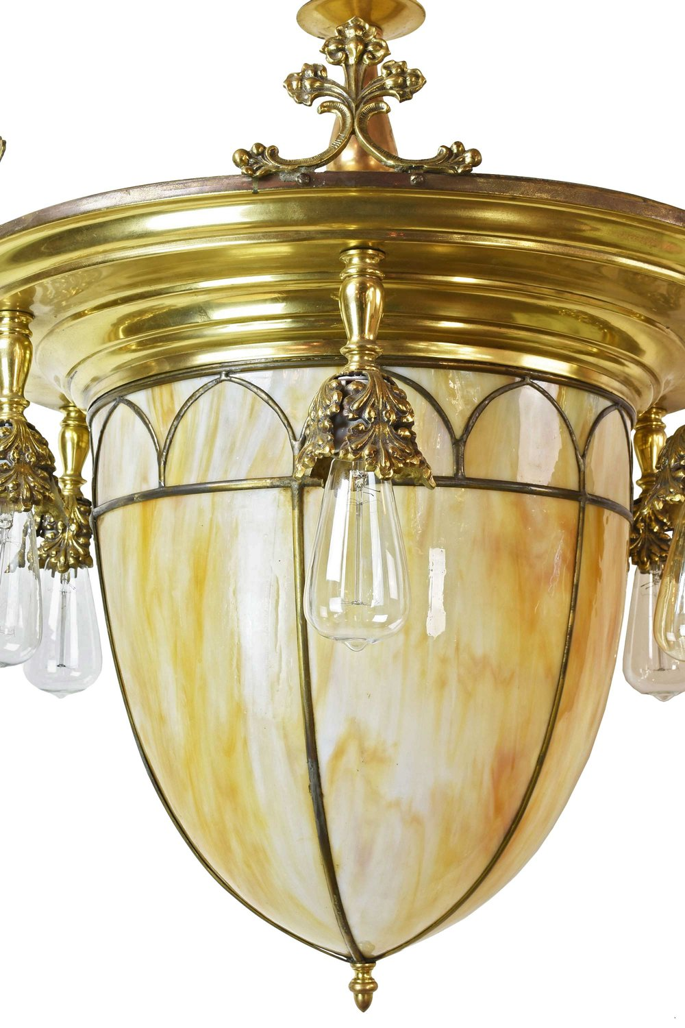 46609-6-light-brass-chandalier-with-slag-glass-shade-bulb.jpg