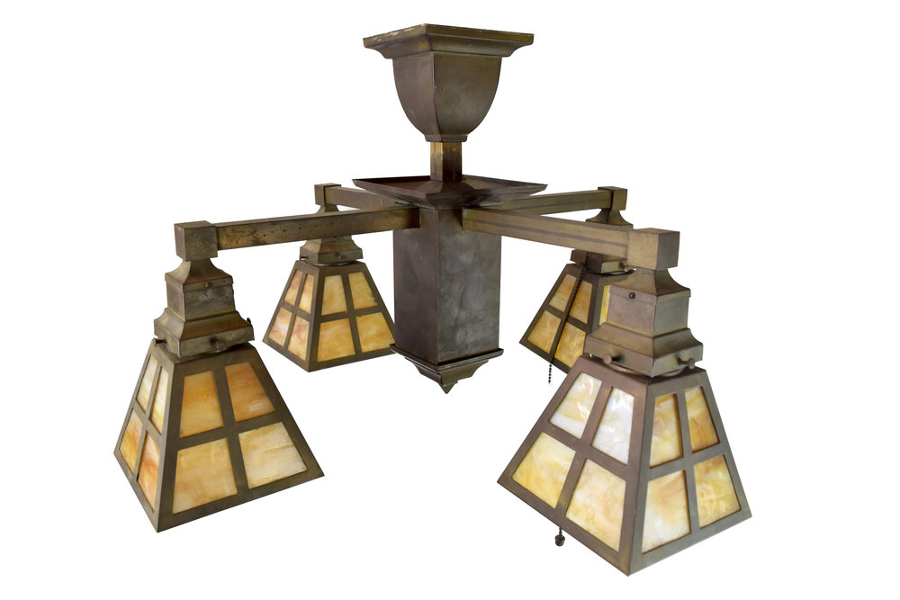 46701-4-arm-mission-light-with-slag-glass-shades-shade-front.jpg