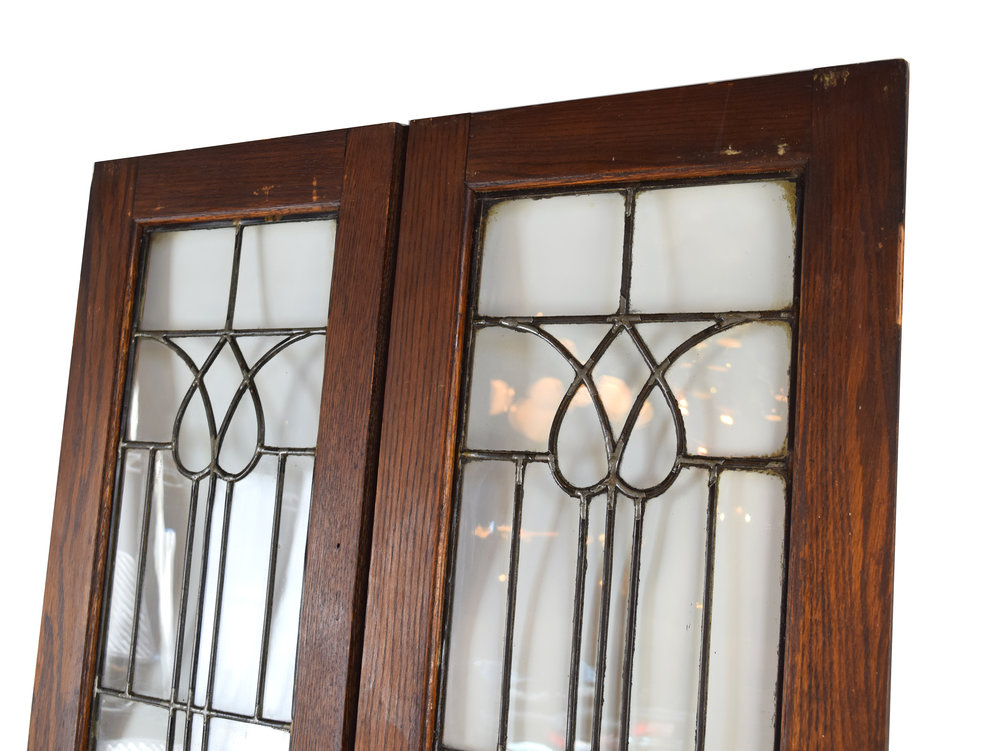 Beveled glass cabinet doors architectural antiques Glass cabinet doors