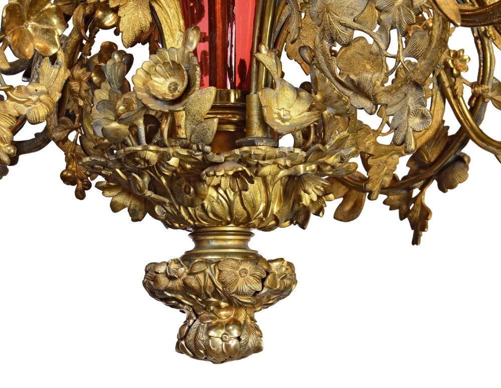46245-ornate-brass-and-cranberry-glass-fixture-bottom.jpg