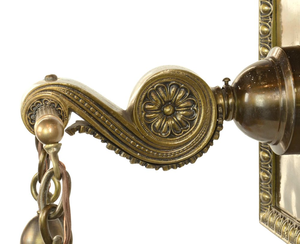 45448-cast-brass-sconce-with-art-glass-shades-arm-detail.jpg