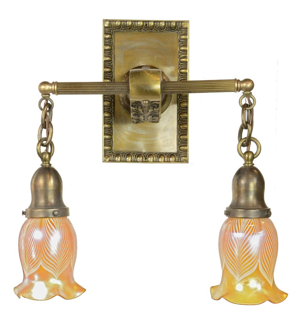45448-cast-brass-sconce-with-art-glass-shades-front.jpg