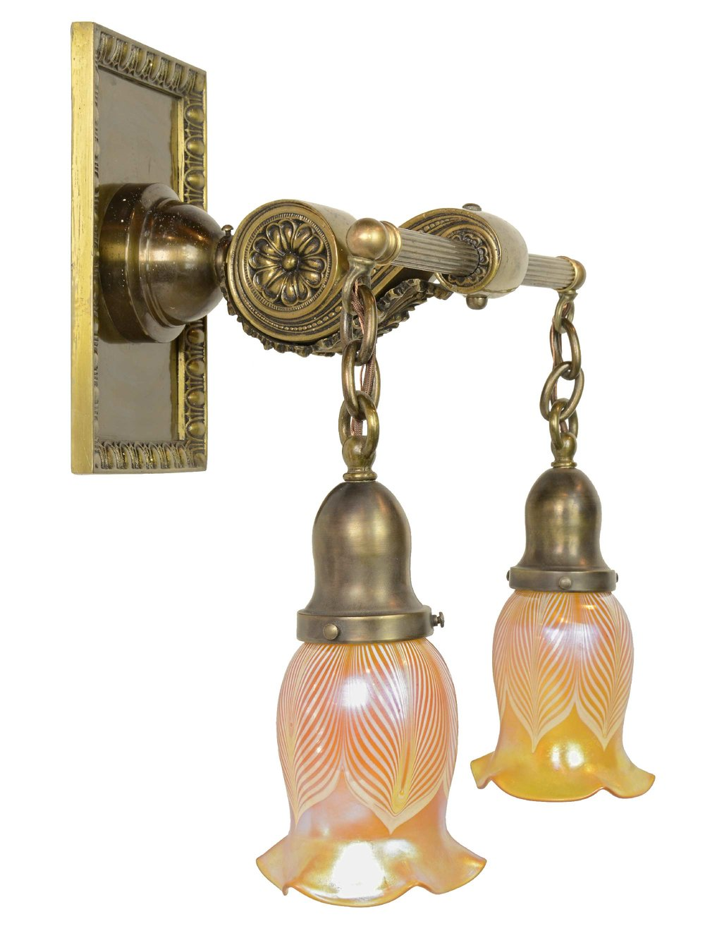 45448-cast-brass-sconce-with-art-glass-shades-side.jpg