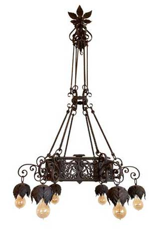 http://www.archantiques.com/sold/twisted-iron-6-light-chandelier-with-filigree