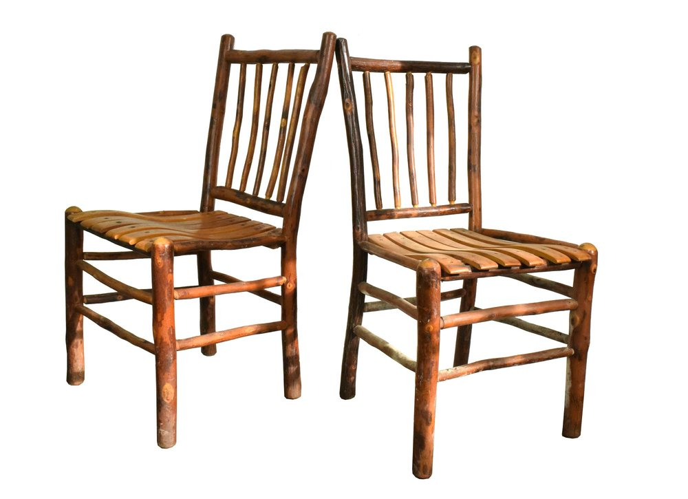 Rustic Hickory Chairs