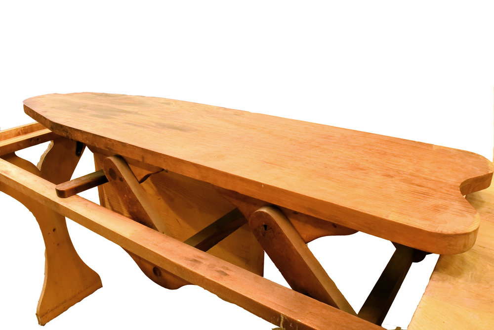 46902 maple kitchen table ironing board detailjpg - Maple Kitchen Table