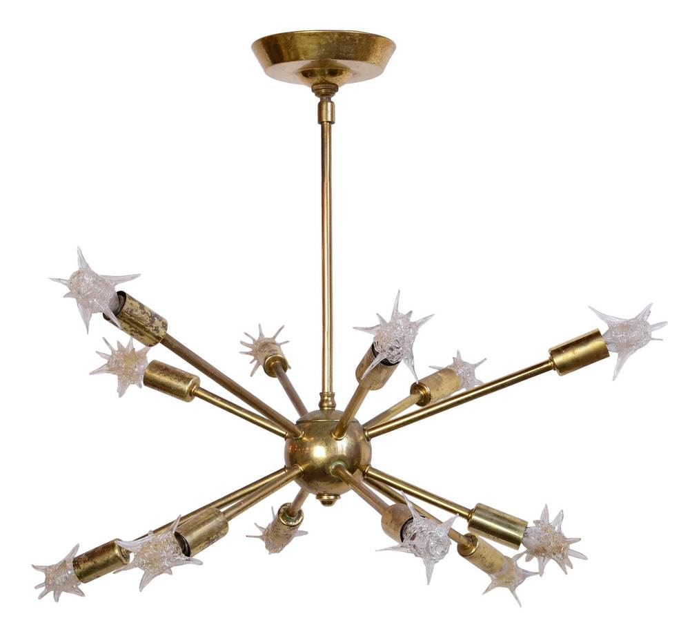 Architectural Antique's Brass Sputnik Light