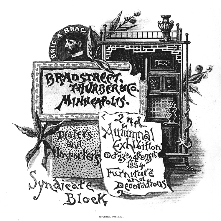 THE WORK OF JOHN S. BRADSTREET & CO. -