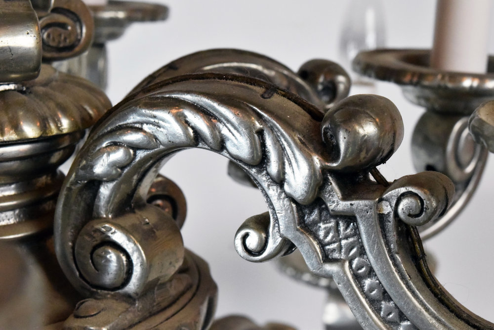 47165-cast-12-candle-silver-chandelier-detail arm.JPG