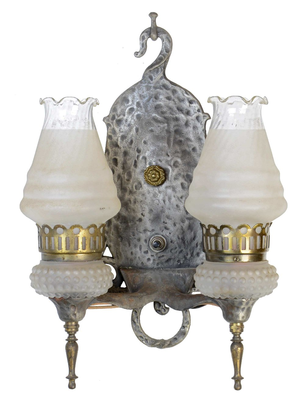 virden tudor sconces with shades