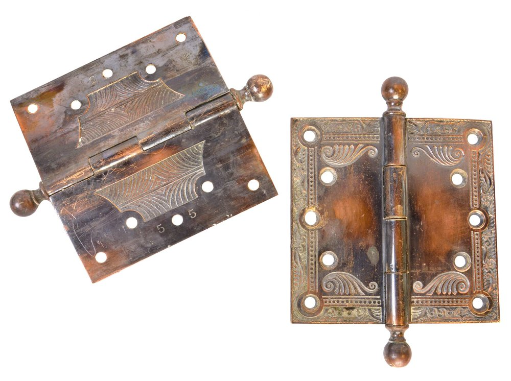 sargent & co cast bronze victorian hinges