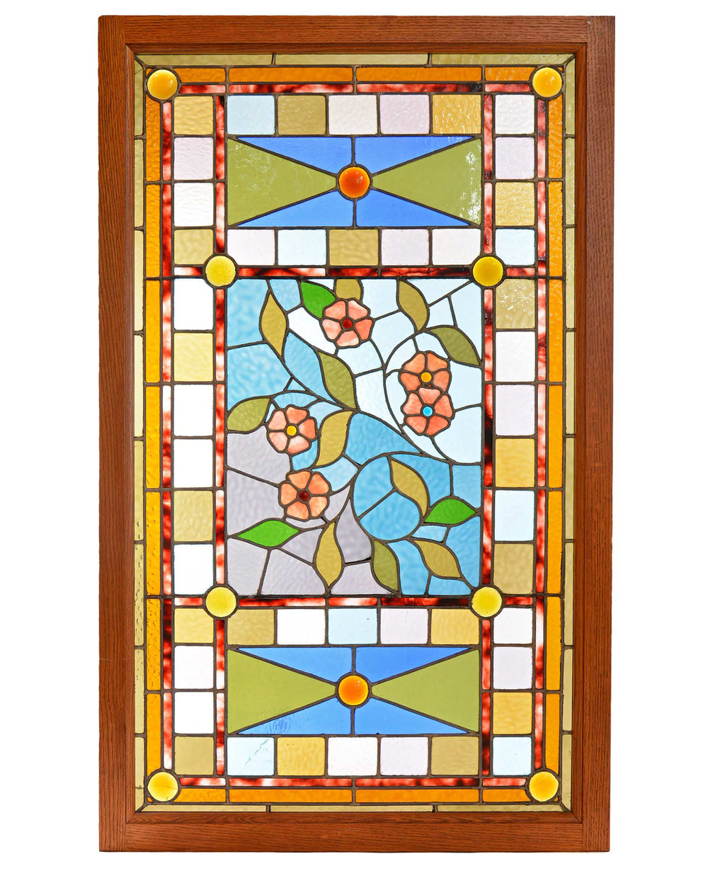 aesthetic victorian floral window