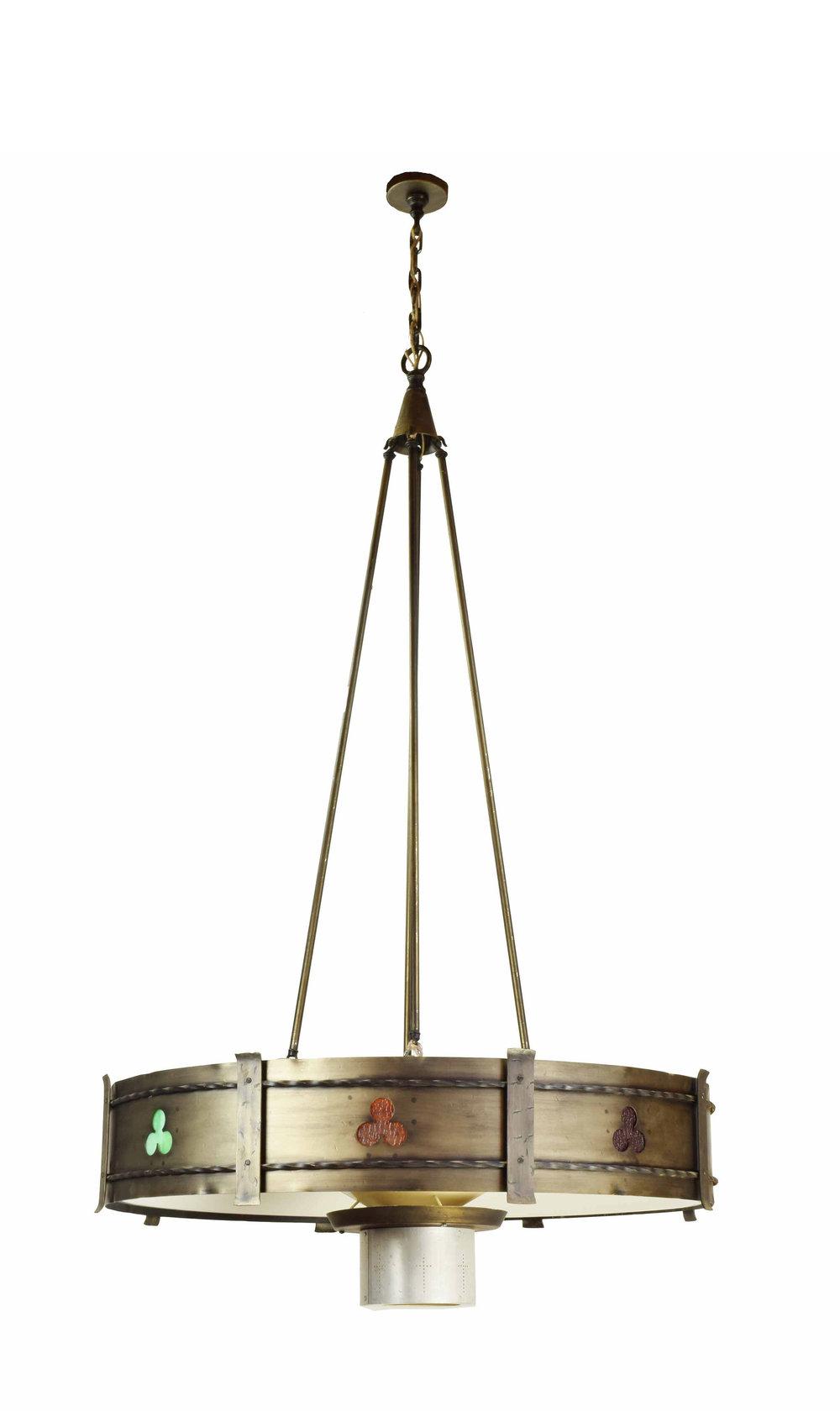 midcentury gothic chandeliers