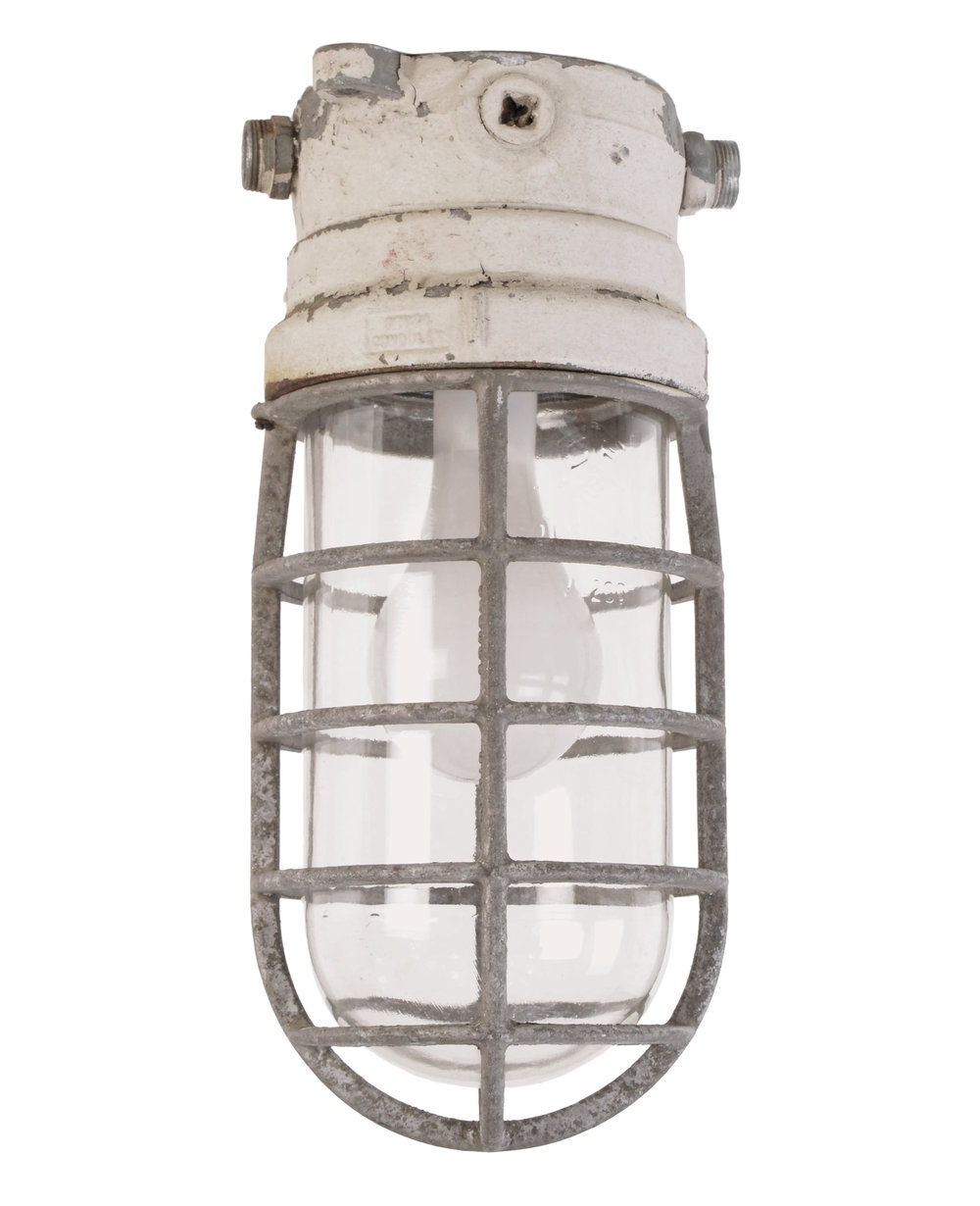 crouse hinds industrial cage fixture