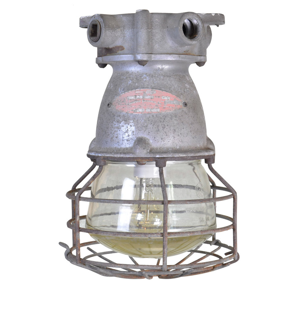 crouse hinds industrial cage fixtures