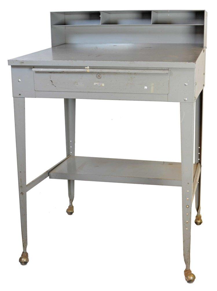 steel lectern