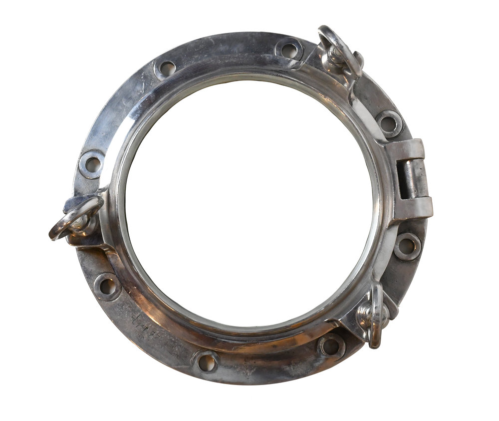 nickel plated porthole