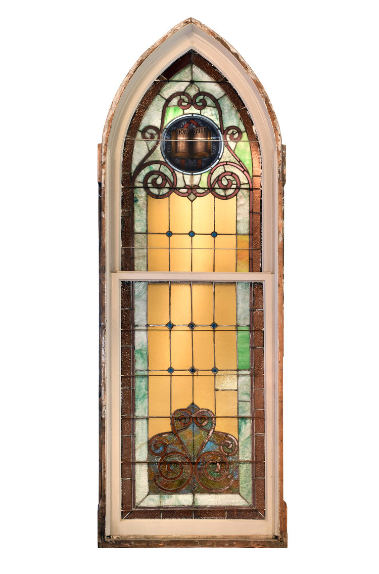 Small Arched Church Windows Architectural Antiques
