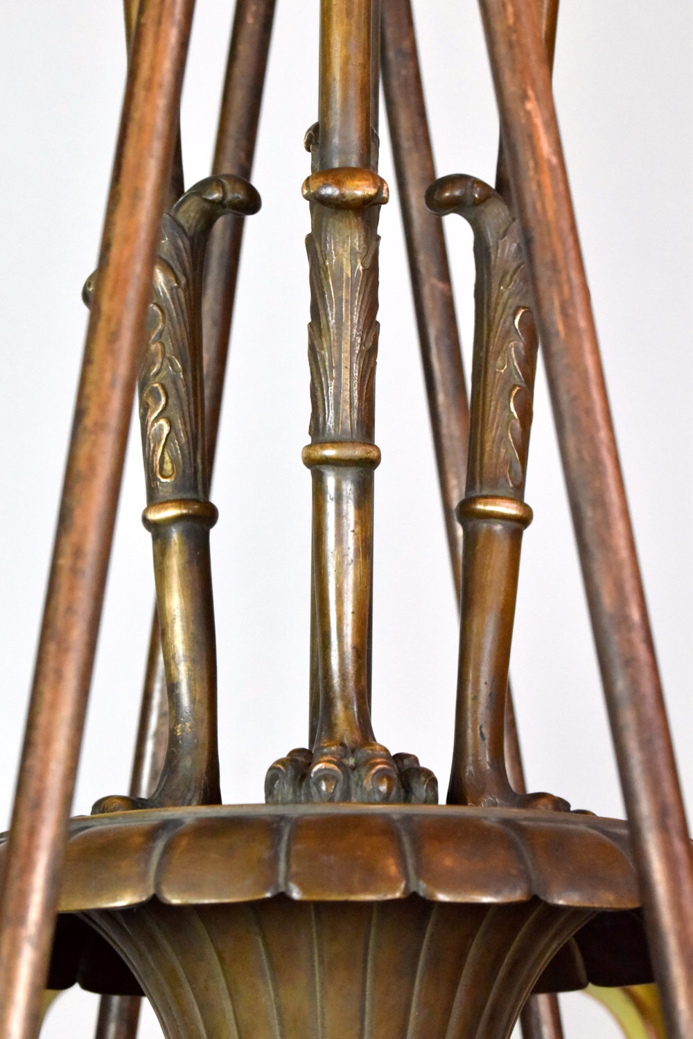 47590-cast-bronze-nine-light-chandelier-hanging-detail.jpg