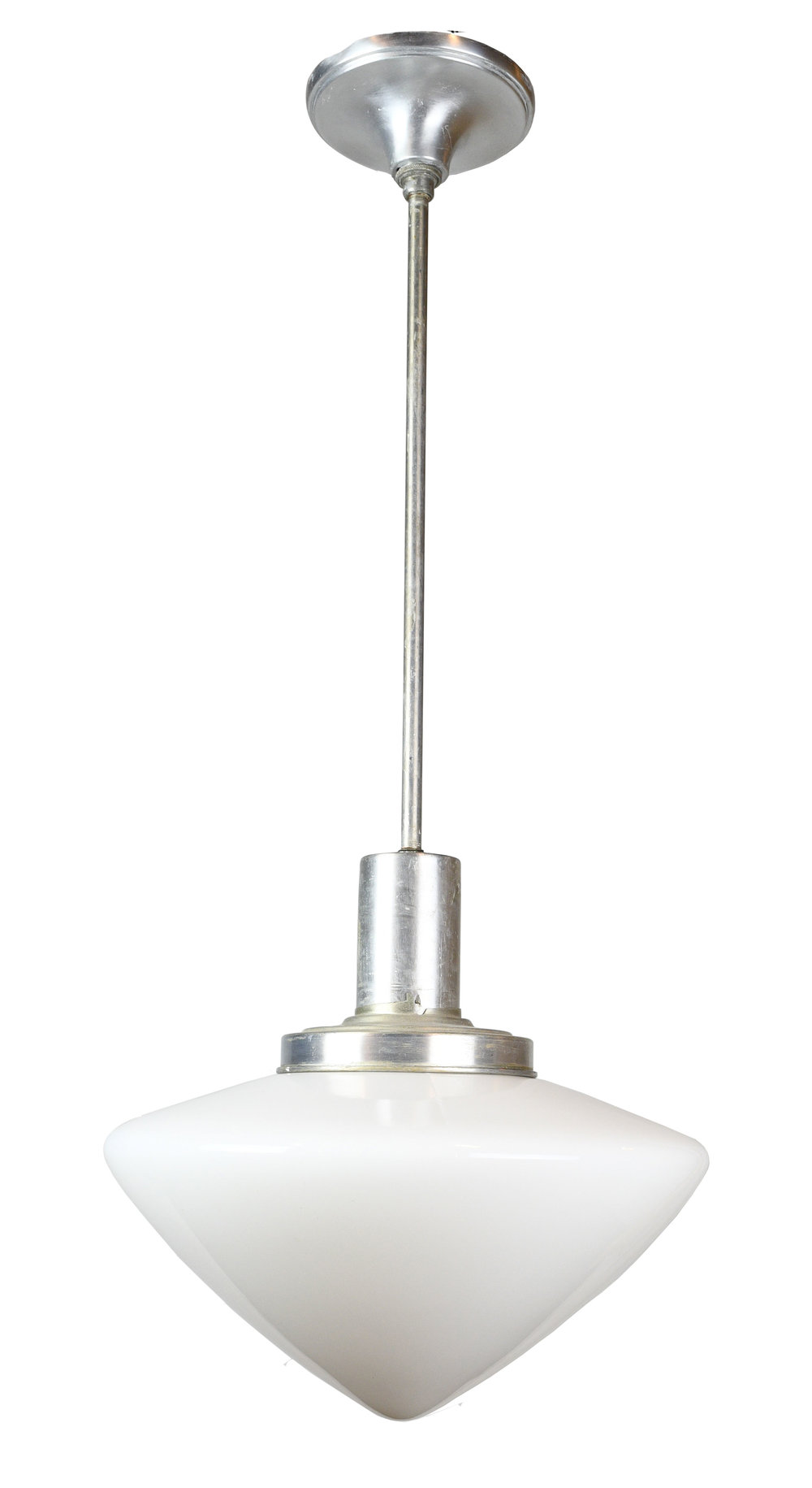 aluminum pendant with acorn shade