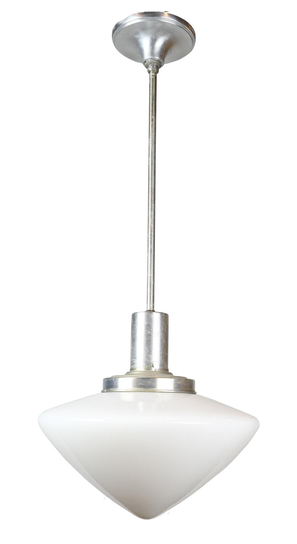 aluminum pendant with acorn shade