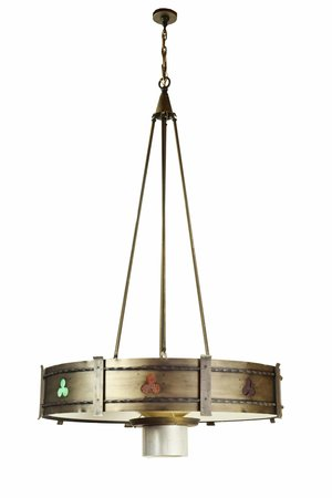 Mid-Century Gothic chandelier available in store!