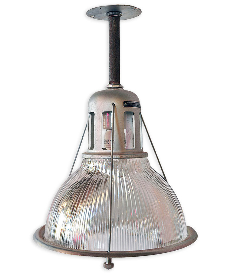 12  prismatic holophane lights  sc 1 st  Architectural Antiques & 12