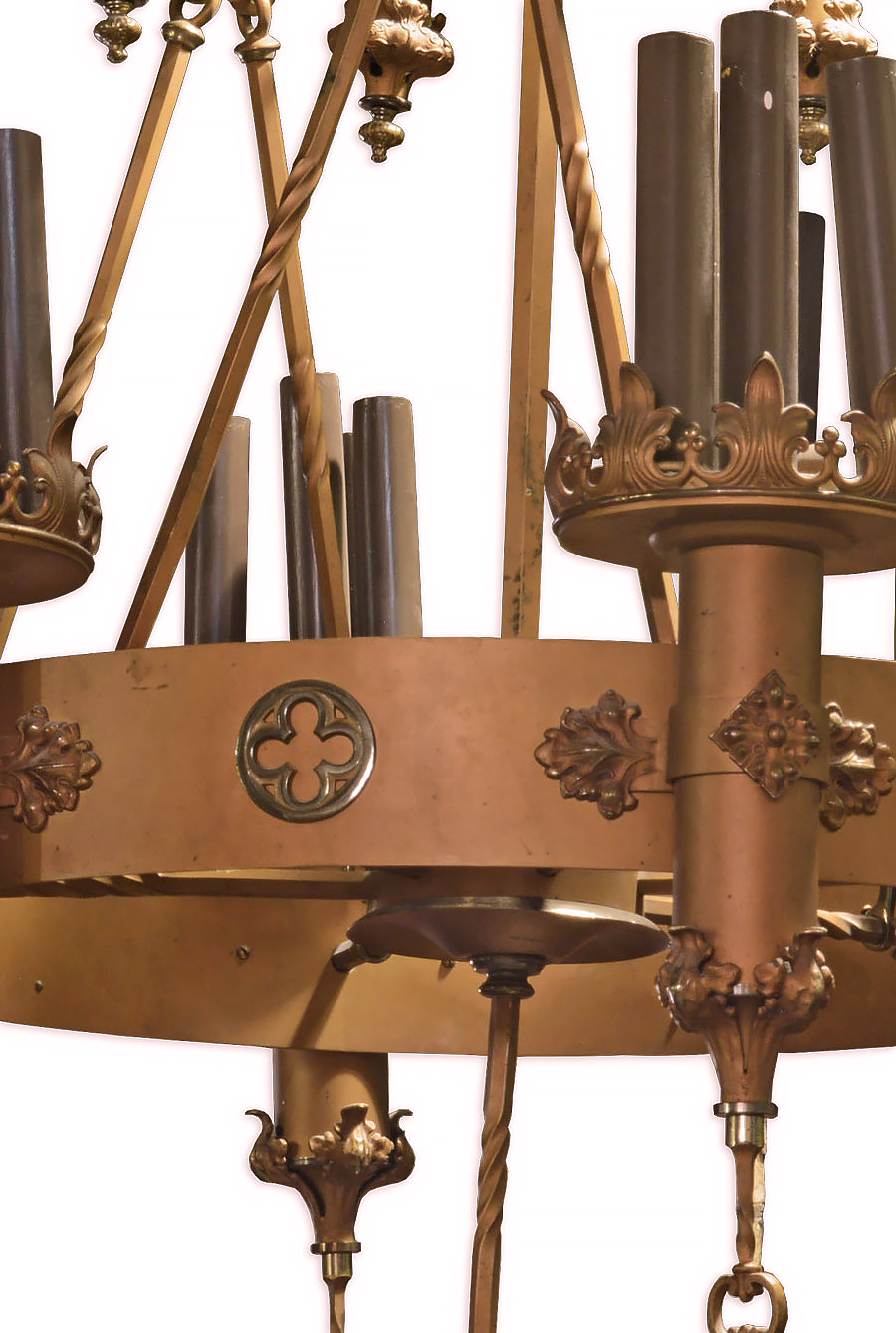 Two tier gothic chandelier architectural antiques 45472 2 tier gothic chandelier detailg aloadofball Gallery