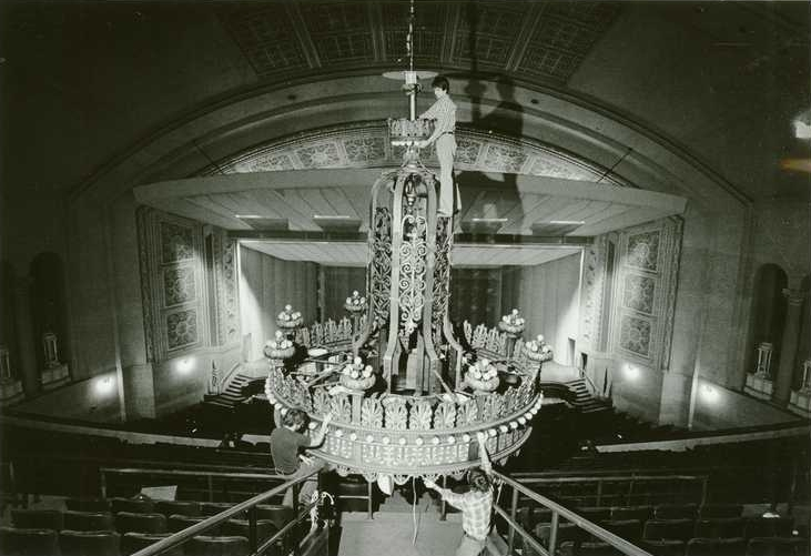 ALL THE WORLD'S A STAGE - SALVAGED LIGHTS AT THE NORTHROP MEMORIAL AUDITORIUM