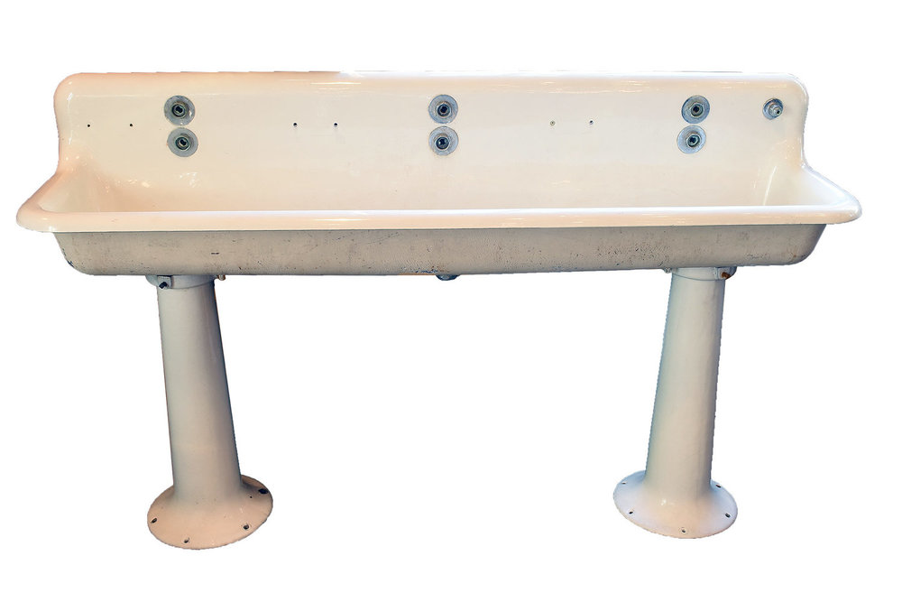 'standard' six foot trough sink
