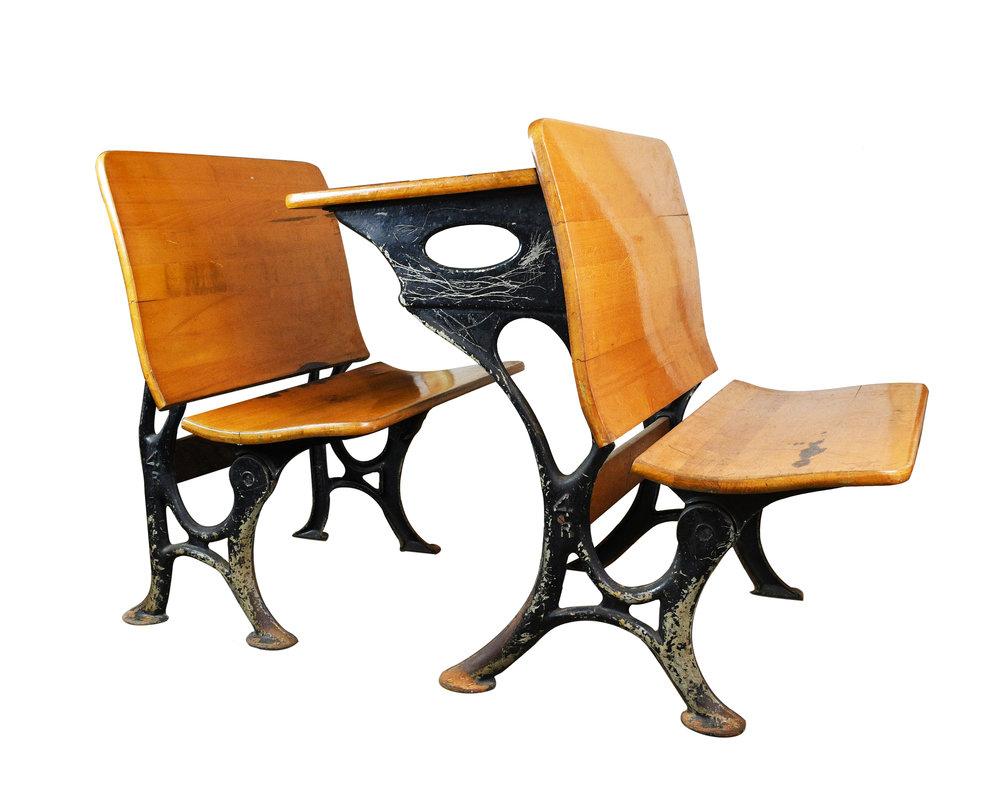schoolhouse desk