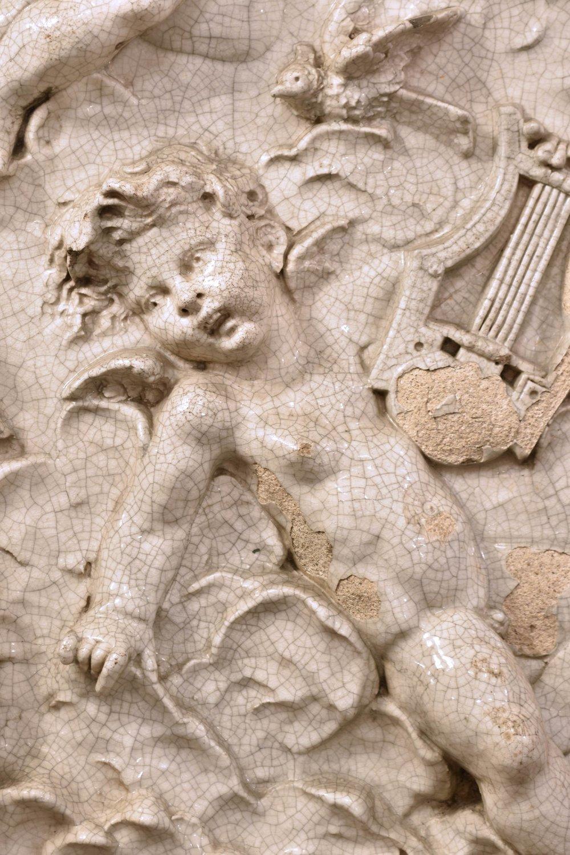 47960 ANGELS CHERUBS TERRA COTTA music 2.jpg