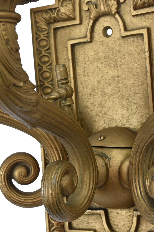 47753 large bronze sconce pair 3 detail 2.jpg