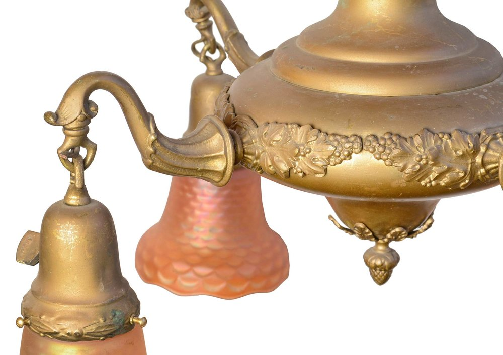 44066-brass-chandelier-with-fishscale-shades-arm-detail.jpg