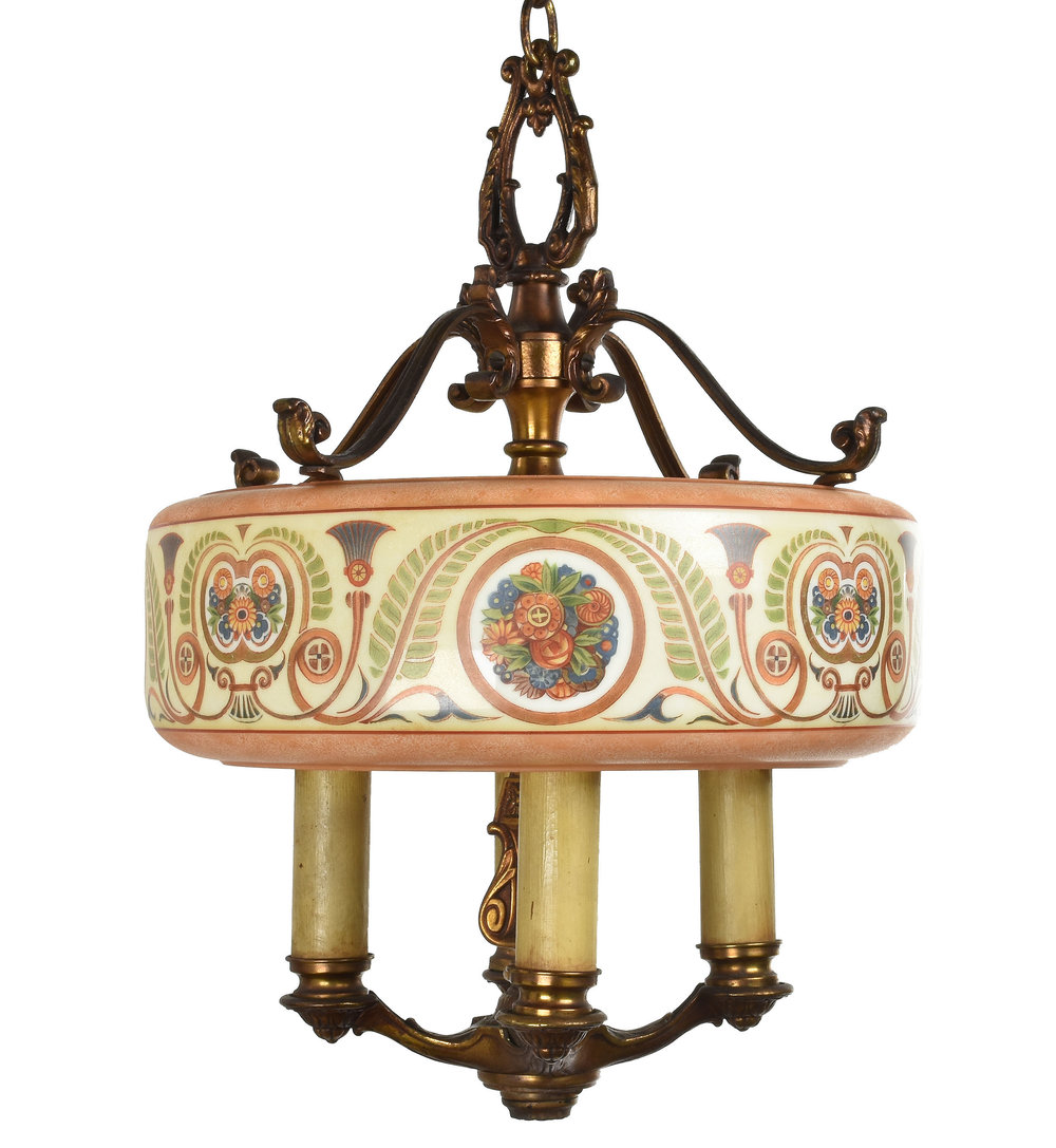 48147 dinelier chandelier 1.jpg - Chandeliers With Shades — ARCHITECTURAL ANTIQUES