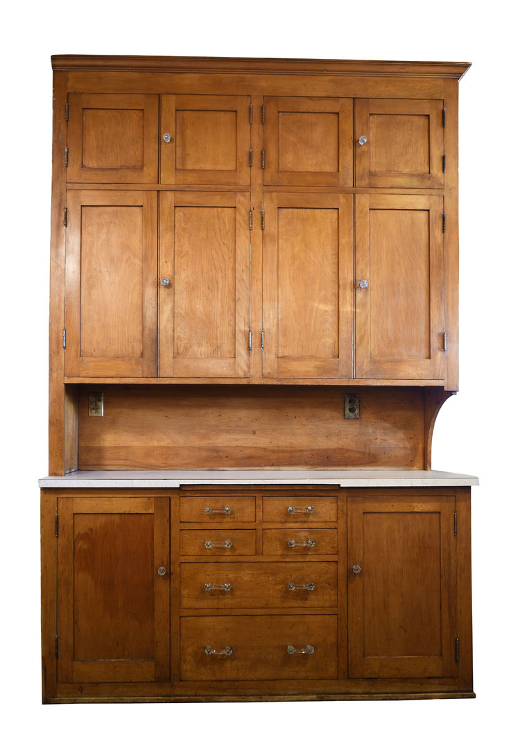 Maple Kitchen Cabinet Unit Architectural Antiques
