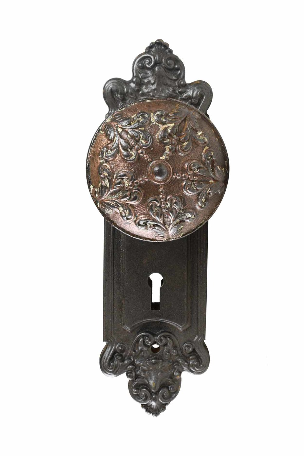 """SARGENT AND CO. CAST IRON """"TG"""" KNOBSETS AA# H20195A   3 sets available $145.00 each set"""