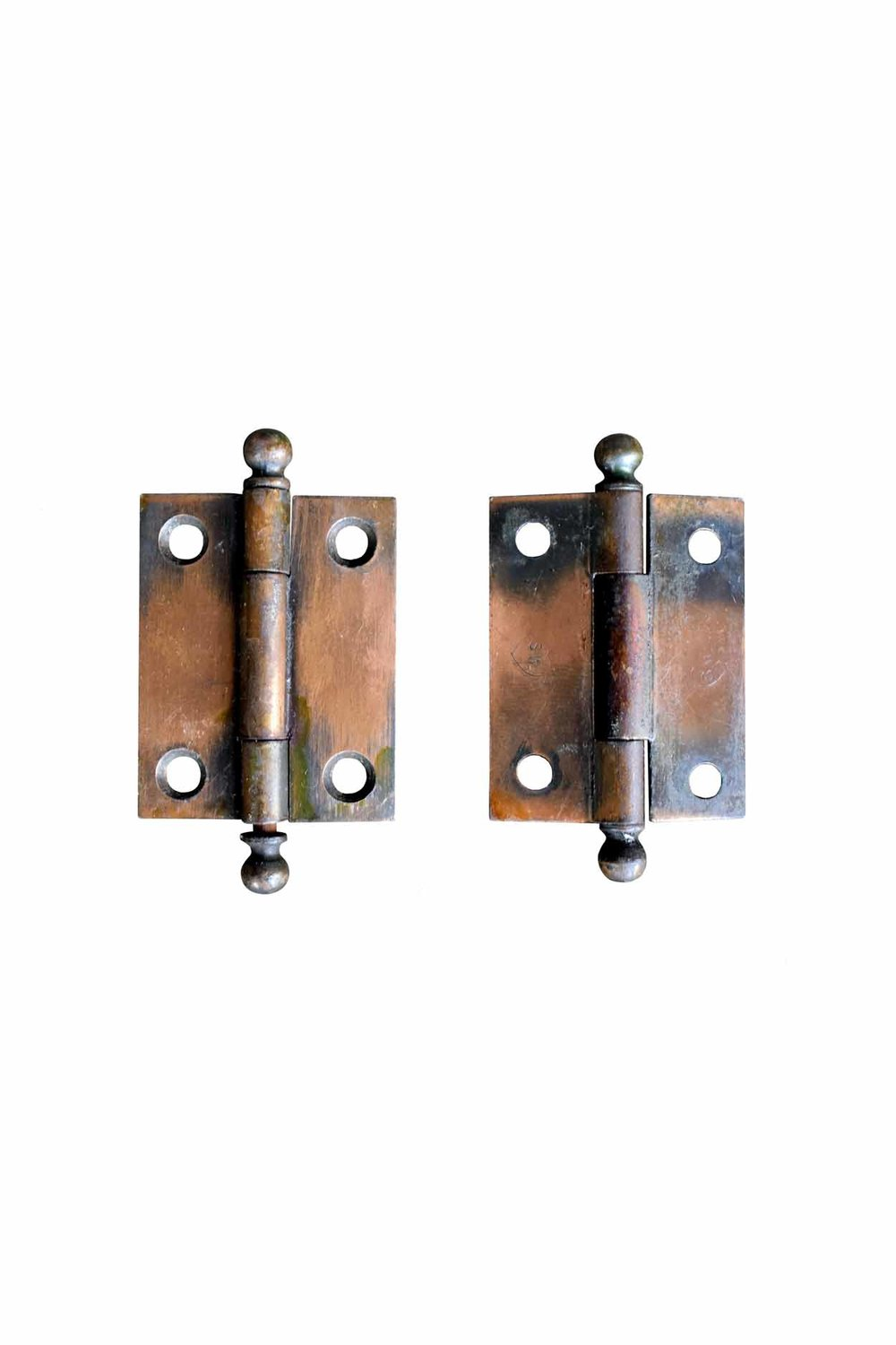 """GILT AND SATIN 1.5"""" X 2"""" CABINET HINGES AA# H20141   26 available in 2 varieties from $22.00 each"""