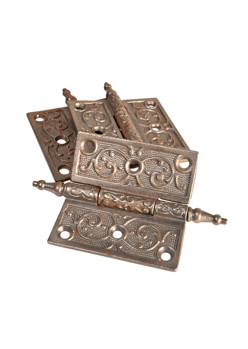 """3.5"""" DECORATIVE STEEPLE HINGES AA# H20061-C   3 available $45.00 each"""