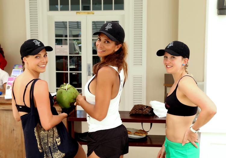 Photographed (L-R): Katrina (BootyFit Babe), Wendy La Roche, Cara (BootyFit Trainer) BootyFit Bali Retreat 2013