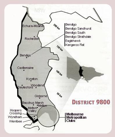 Rotary District 9800 - Victoria, Australia