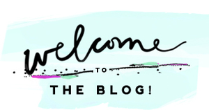 Blog Welcome Title Section