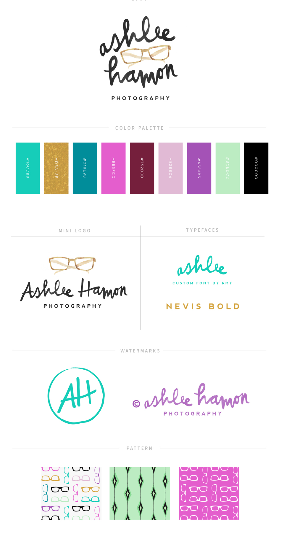 Ashlee Hamon Photography Logo